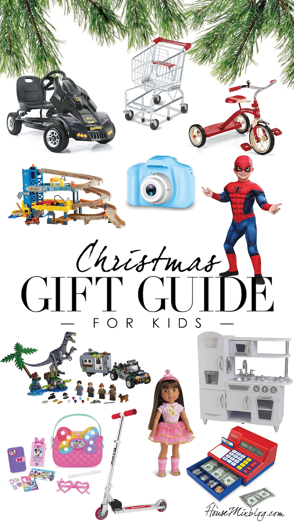 Christmas gift guides for kids - presents for boys and girls - classic toys
