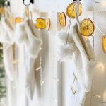 How to make dried orange garland