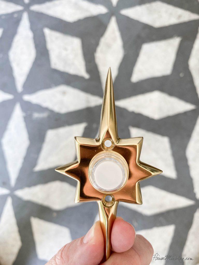Star door bell ringer