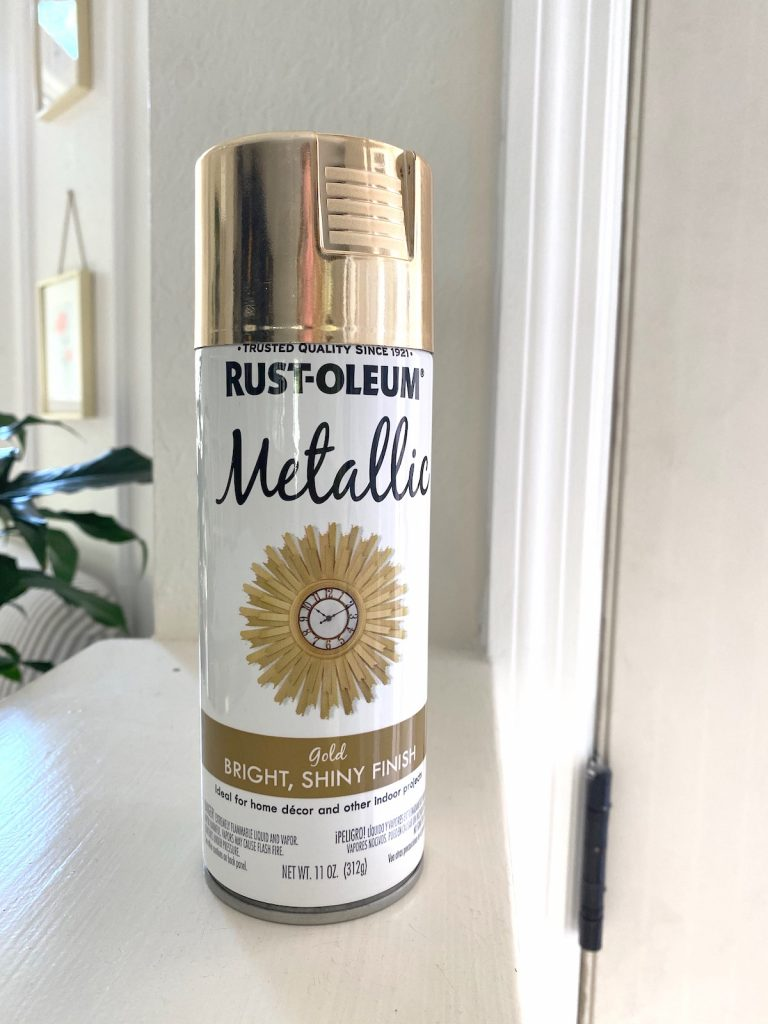 The best gold spray paint I've used