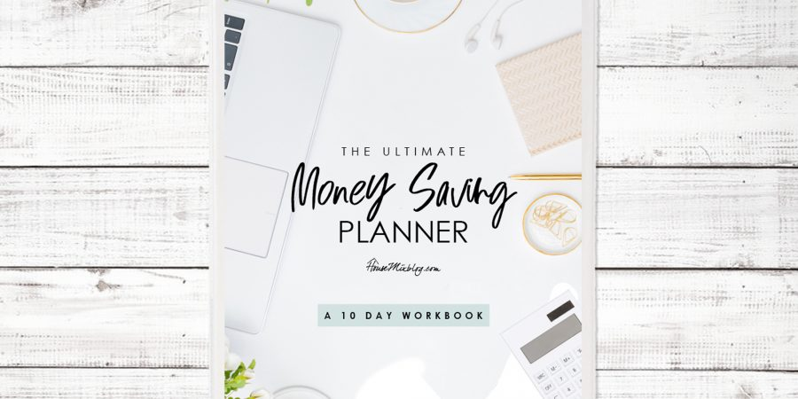 Ultimate saving money planner cover - horizontal