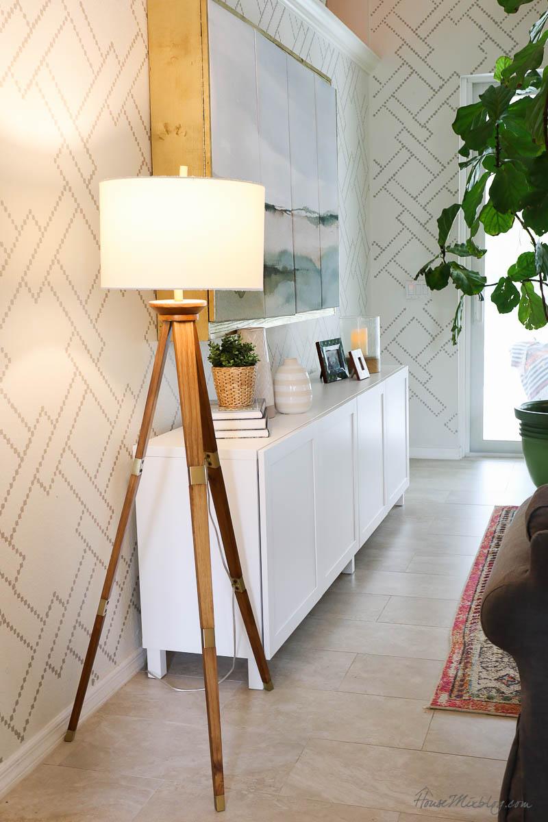 8 cozy lighting ideas - floor lamps