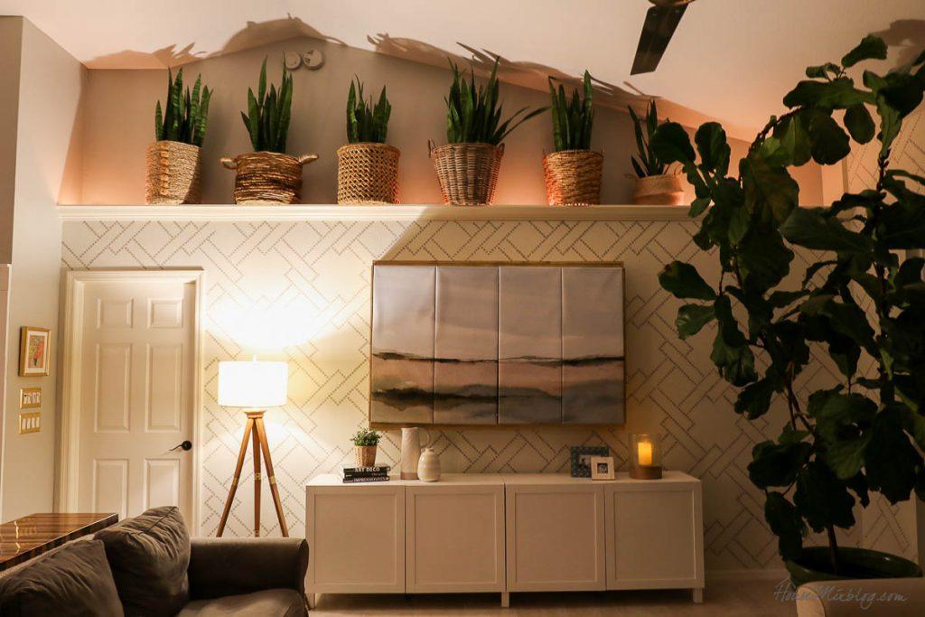 8 cozy lighting ideas - rope lighting