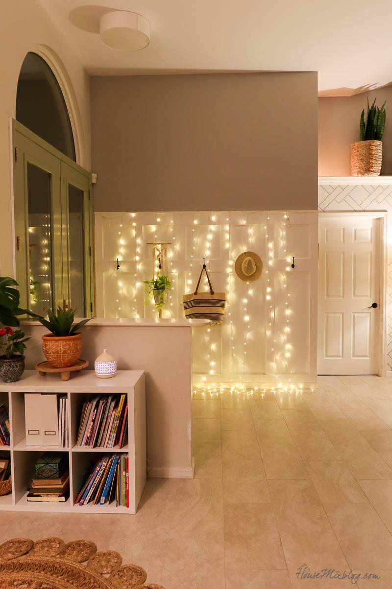 8 cozy lighting ideas - night shot