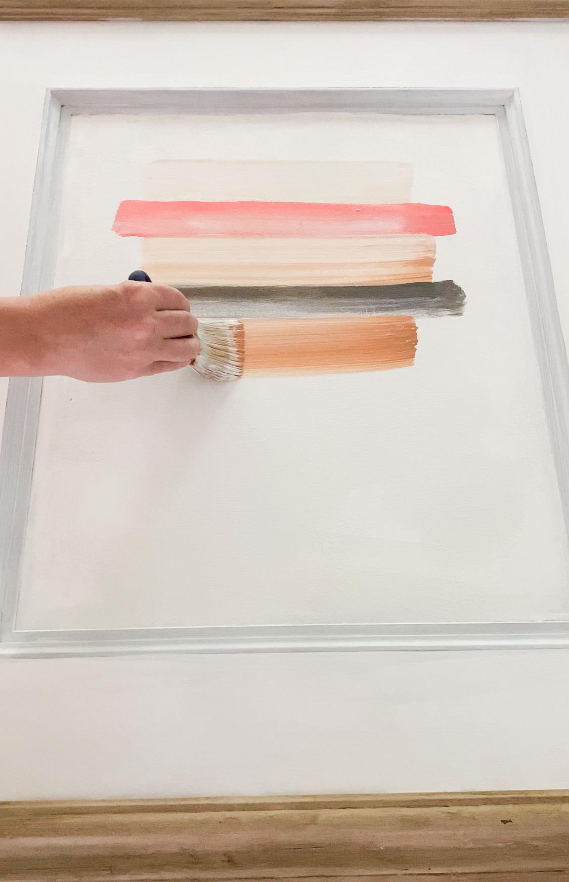 Simple colorful DIY art ideas